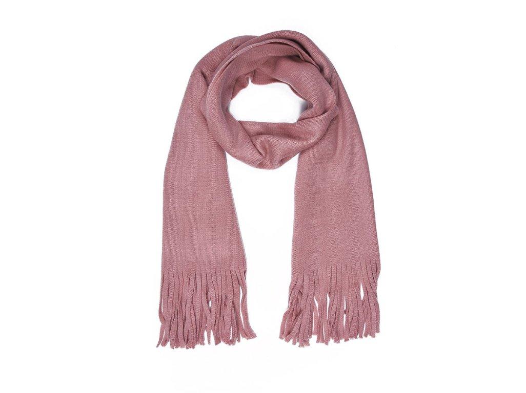 Dámská šála - růžová